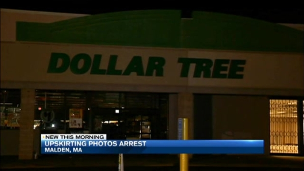[NECN] Man Arrested for 'Upskirting' Customer at Mass. Store