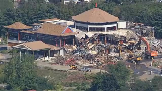 Demolition Begins on Weylu's Chinese Restaurant