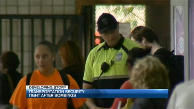 [NECN] Massachusetts Transportation Security Tight After Bombings