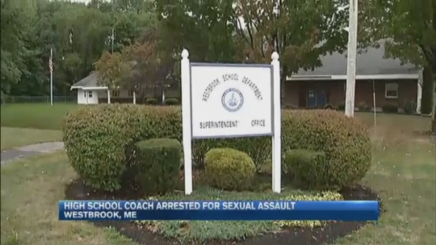 [NECN] High School Coach Charged With Sexual Assault of Teen Student in Westbrook, Maine