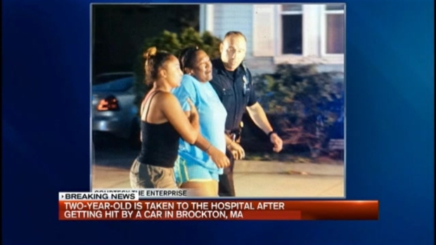 [NECN] Boy Struck by Car in Brockton, Massachusetts