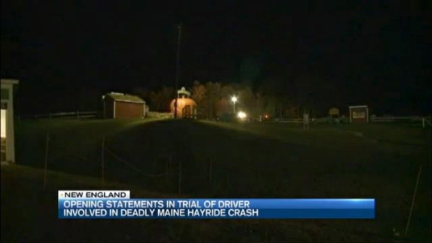[NECN] Trial Beginning for Driver in Fatal Hayride Crash in Maine