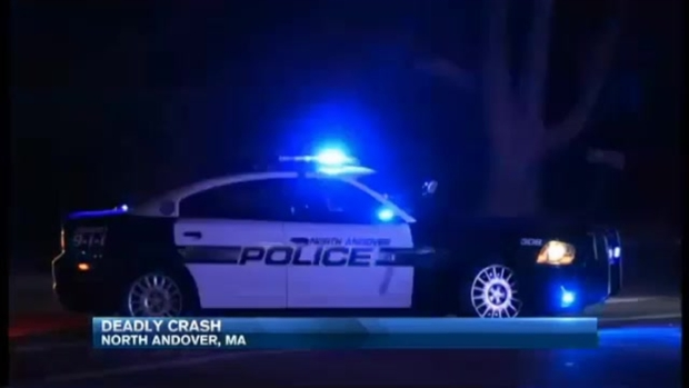 [NECN]1 Dead, 2 Injured in Route 114 Crash in North Andover, Mass.