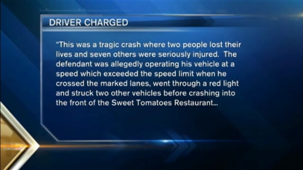 [NECN]Man Charged in Deadly Sweet Tomatoes Restaurant Crash in Court