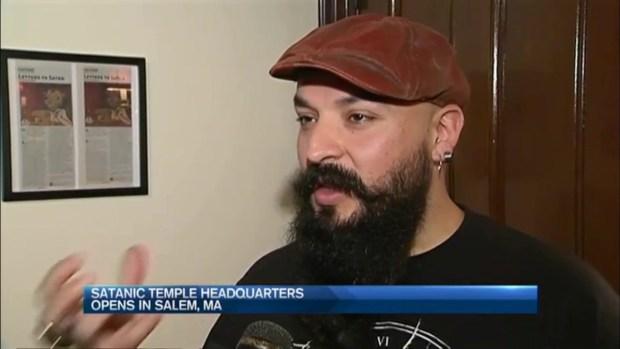 [NECN] Satanic Temple Headquarters Opens in Salem, Massachusetts