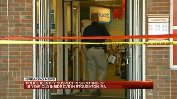 [NECN]2 Teens Arrested in CVS Shooting; Alleged Gunman Wanted