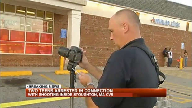 [NECN] 2 Teens Arrested in CVS Shooting in Stoughton, Mass.