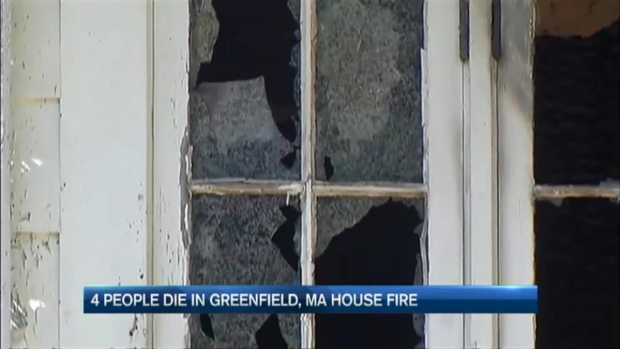 [NECN] 4 People Killed in Greenfield House Fire