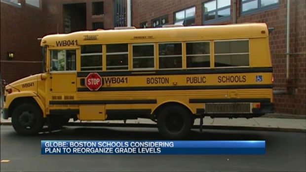 [NECN] Boston Officials Considering Restructuring High, Middle Schools