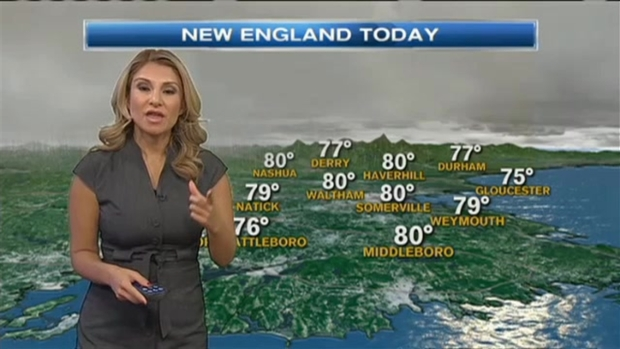 Weather Forecast: Humid, Showers