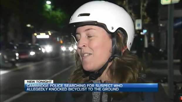 [NECN] Police: Pedestrian Knocks Bicyclist to Ground in Cambridge, Massachusetts