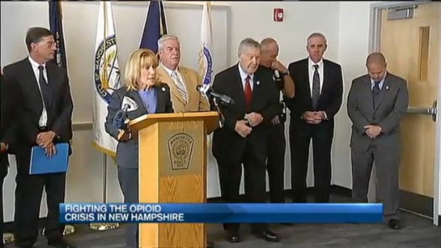 Police, Lawmakers Fight Opioid Crisis in N.H.