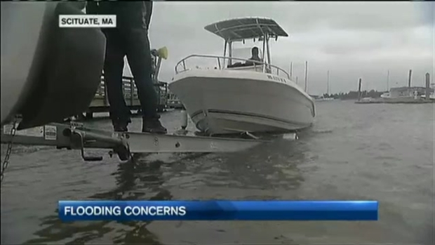 [NECN] Mass. Coast Preparing for High Tide