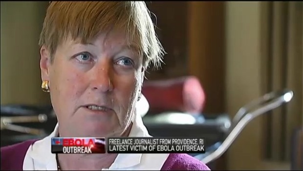 "[NECN] Mom of RI Journalist With Ebola: ""It's Incredibly Stressful"""
