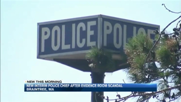 [NECN] New Police Officials Named After Braintree, Mass. Evidence Room Scandal
