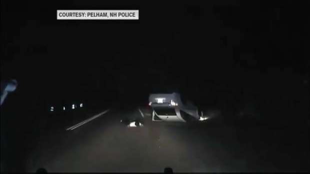 [NECN] Dashcam Video Catches NH Man Leading Police on High-Speed Pursuit