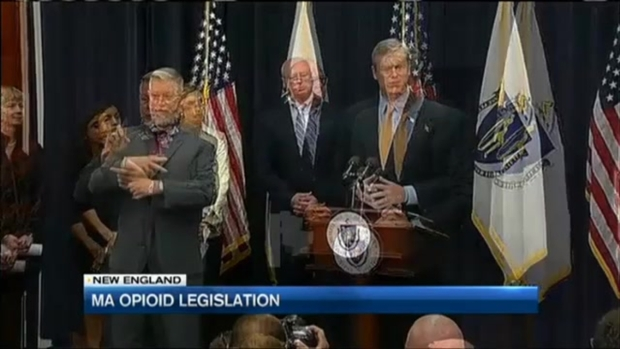 Gov. Baker Unveils Opioid Abuse Bill