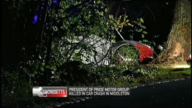 [NECN] Pride Motor Group President Killed in Crash