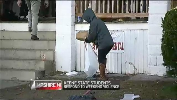 [NECN] Students: Riot Does Not Represent Keene State College