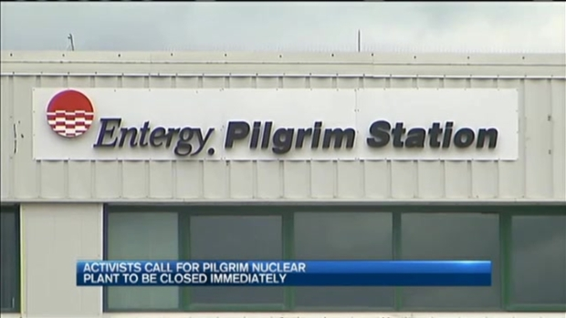 [NECN] Pilgrim Protesters Demand Shutdown Now