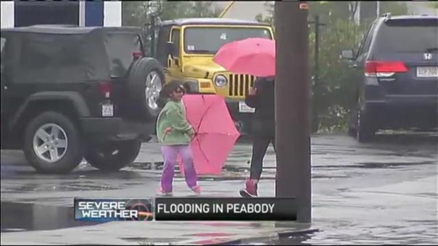 [NECN video release] Residents Begin Flood Water Cleanup