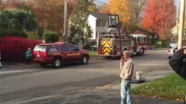 RAW VIDEO: Home Explodes in Mass.