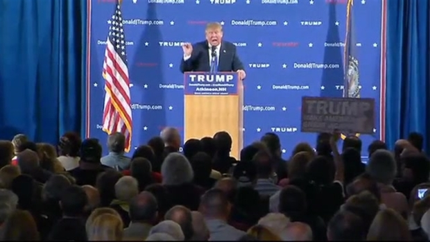 [NECN] Trump: 'We're Going to Get Rid of Obamacare'