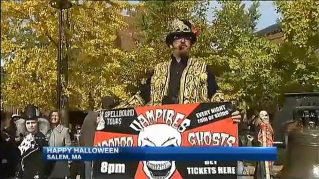 Record-Low Arrests in Salem, Mass  on Halloween - NECN