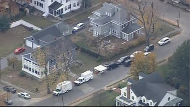 [NECN]AERIAL FOOTAGE: Feds Searching for Clues in Manchester Woman's Murder