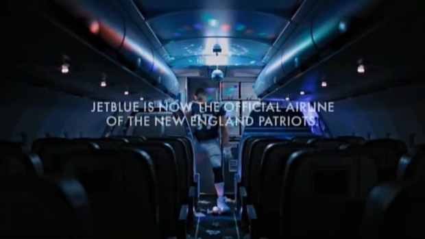 Gronk Dances in New JetBlue Ad