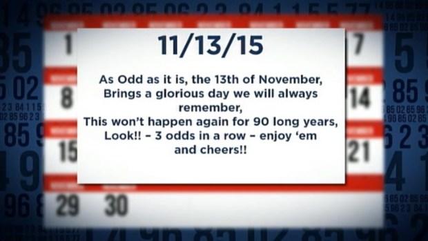Odd Day 11/13/15
