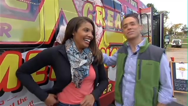 BLOOPER REEL: Latoyia and Brian Have Fun in the Field