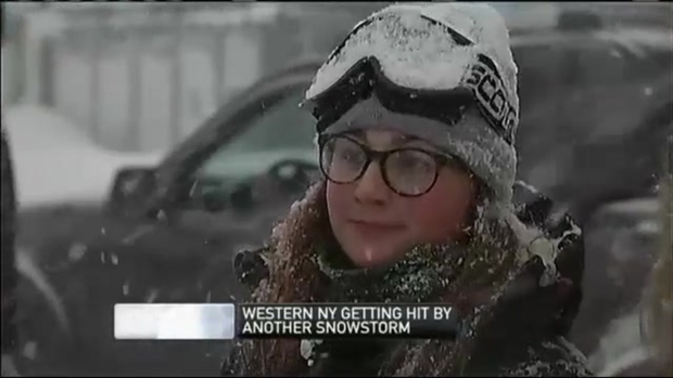 [NECN video release] NECN LIVE in New York: Roofs Buckle in Buffalo Area
