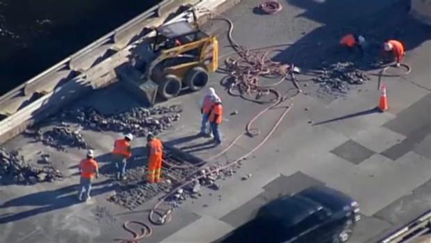 Haverhill Bridge Construction