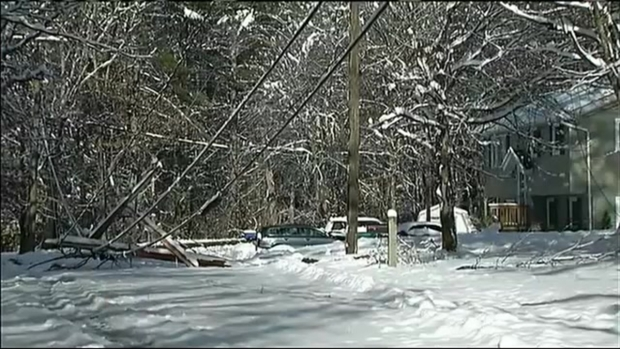 [NECN] Shelters Remain Open as 100K Still Without Power