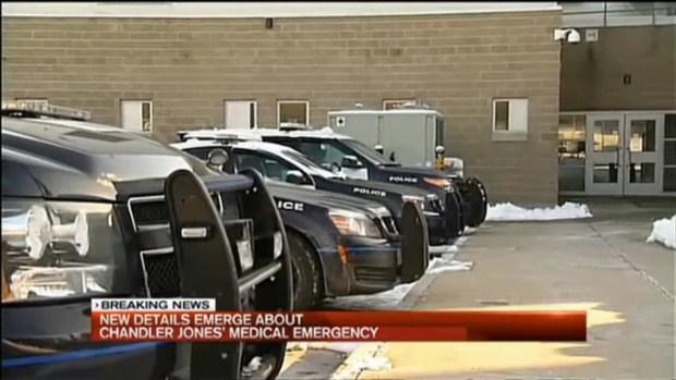 Police Account of Chandler Jones Incident