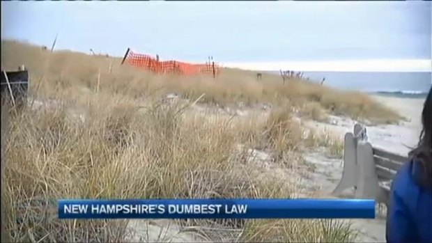 New Hampshire Students Find State's Dumbest Law