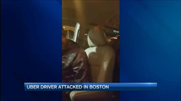 Uber Driver Attacked in Boston