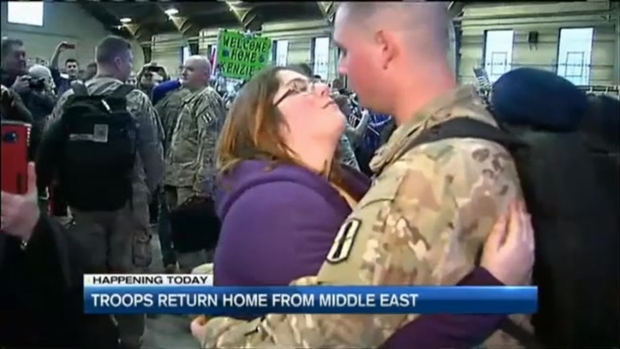 Guard Members Welcomed Home in N.H.