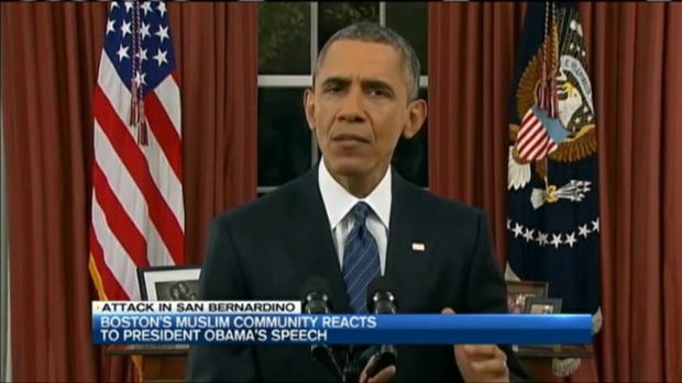 [NECN] Muslim Community Responds to Obama's Speech