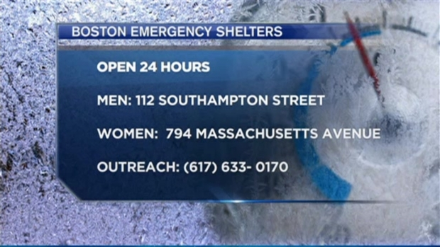 [NECN] Record-Breaking Cold Opens Emergency Shelters