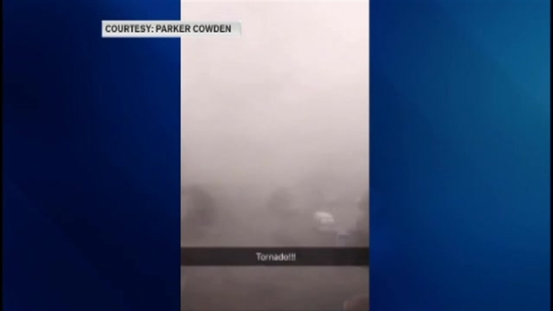 [NECN]Storms Pass Through Hingham, Massachusetts