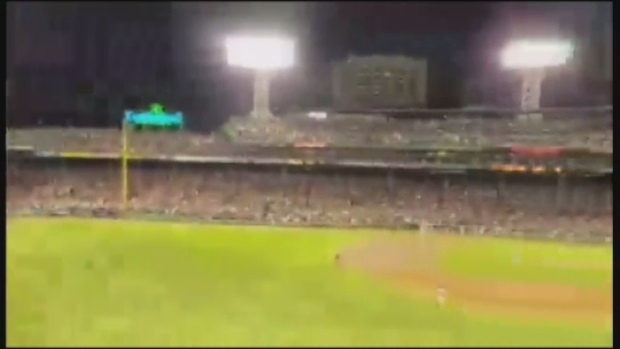 [NECN] Viewer Video: Hanley Ramirez Slams Ball Out of the Park