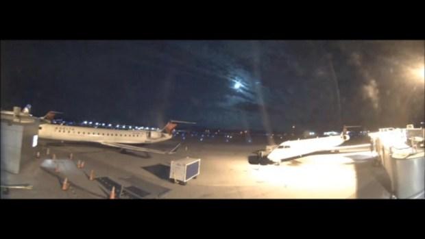 [NECN] Fireball Streaks Across New England Sky