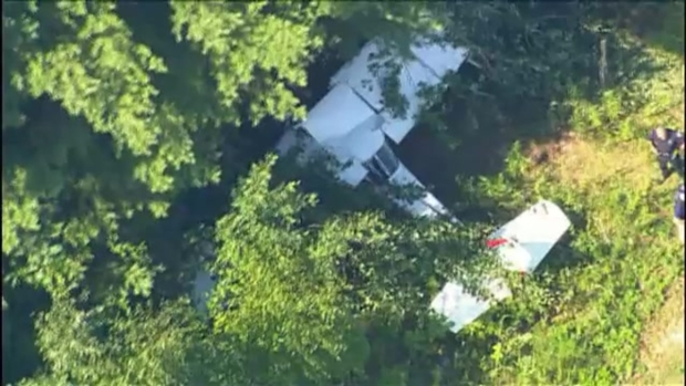 [NECN] Plane Crashes in Littleton, Massachusetts