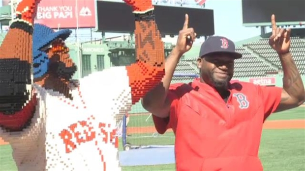 [NECN] Big Papi Meets Block Papi
