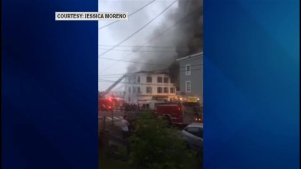 [NECN] Deadly Fire Breaks Out in Manchester, New Hampshire