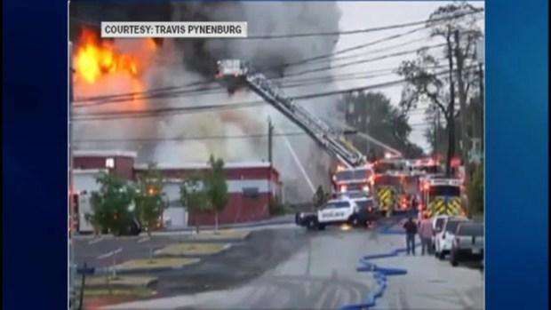 [NECN] Massive Fatal Fire Tears Through Manchester, NH Home