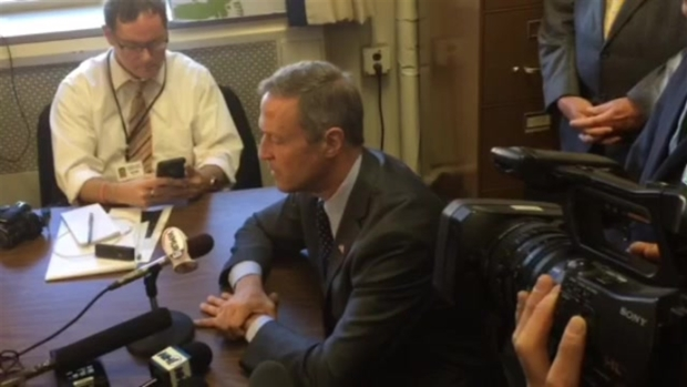 After Signing Up for N.H. Primary, O'Malley Rips Trump