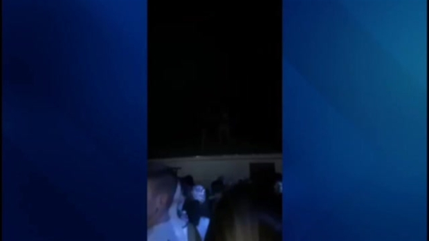 VIDEO: Woman Pushed From Roof at College Party